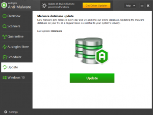 Auslogics Anti-Malware 1.21.0.1