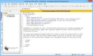 CoffeeCup HTML Editor 17.0 Build 854 Crack 2021 Free Version Win/MAC